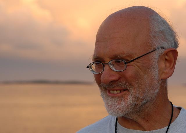Ray Simpson - bildet tatt på Risøya FHS i 2006.